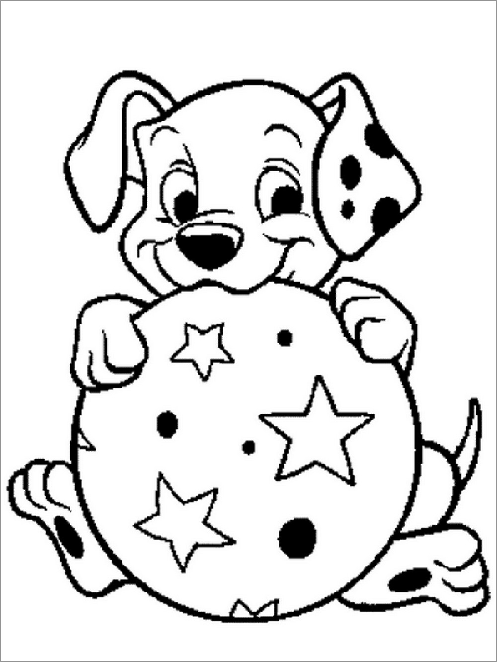 101 Dalmatians Coloring Pages to Print