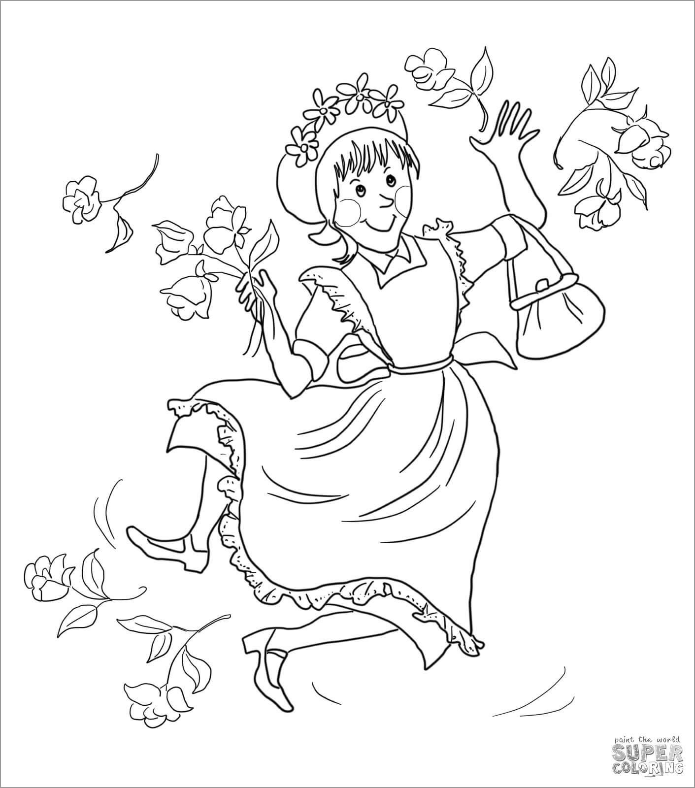 Amelia Bedelia Coloring Page to Print