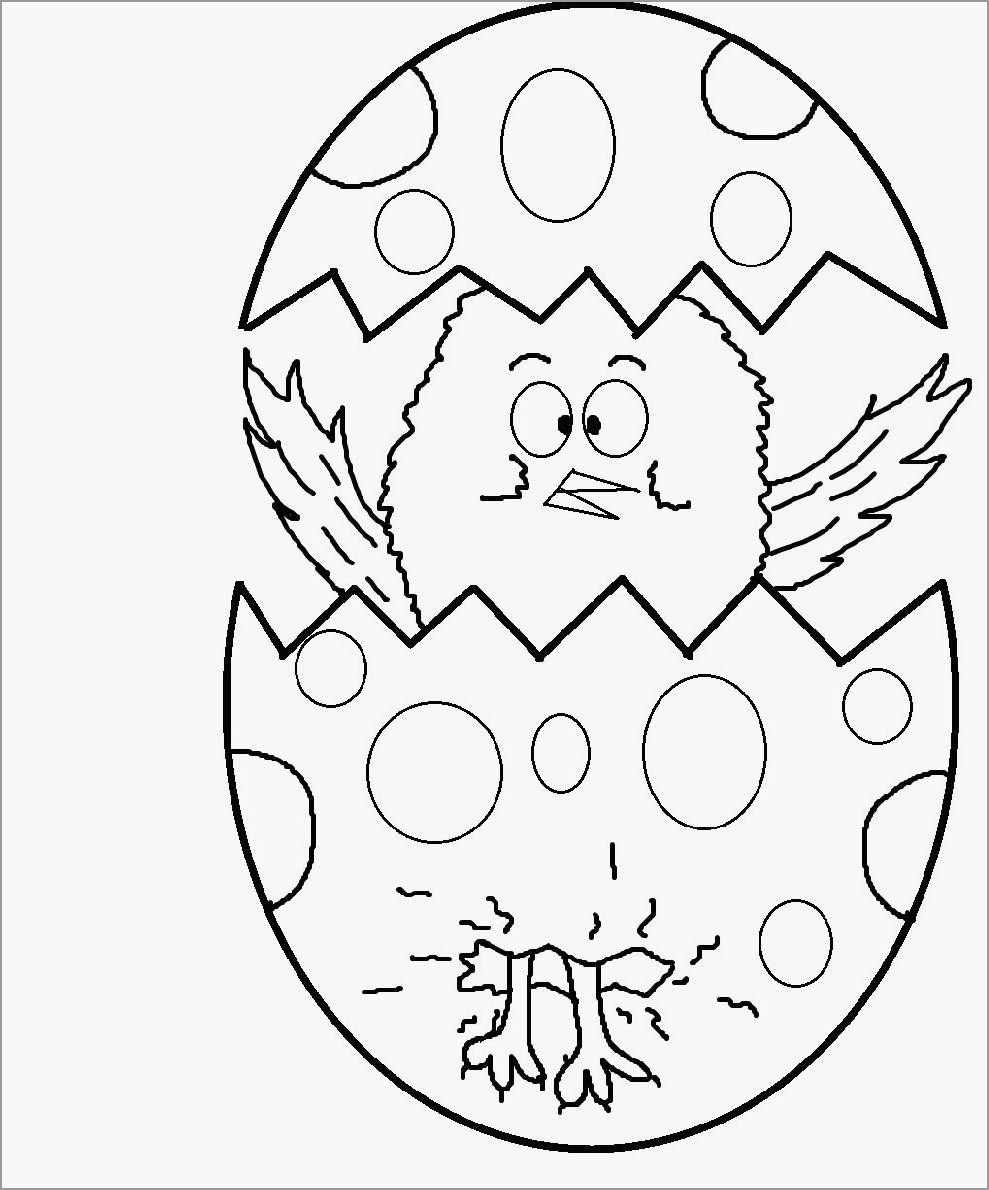 Easter Chick Coloring Page