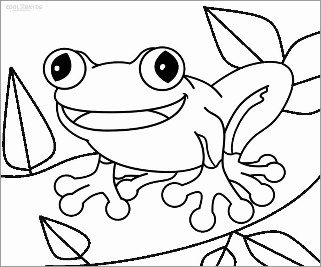 Free Cute toad Coloring Pages to Print