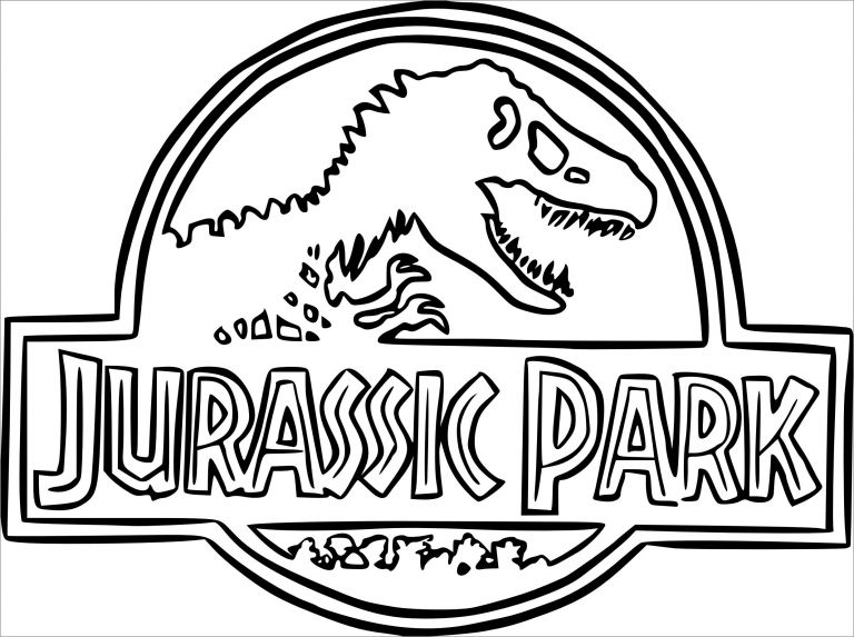 jurassic world coloring pages pdf | Jurassic Park Coloring Pages - ColoringBay