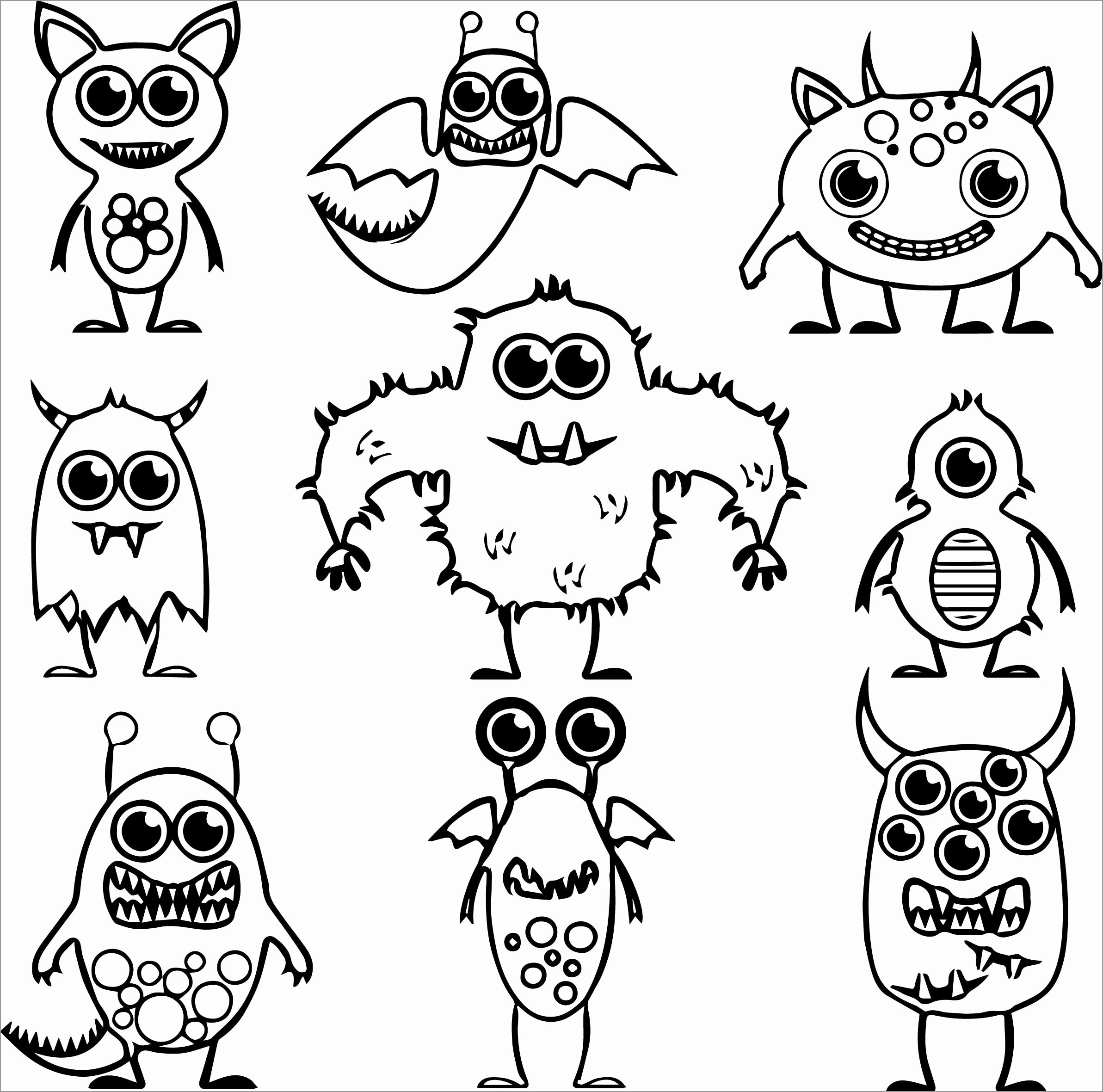 Toy Story Alien Coloring Page