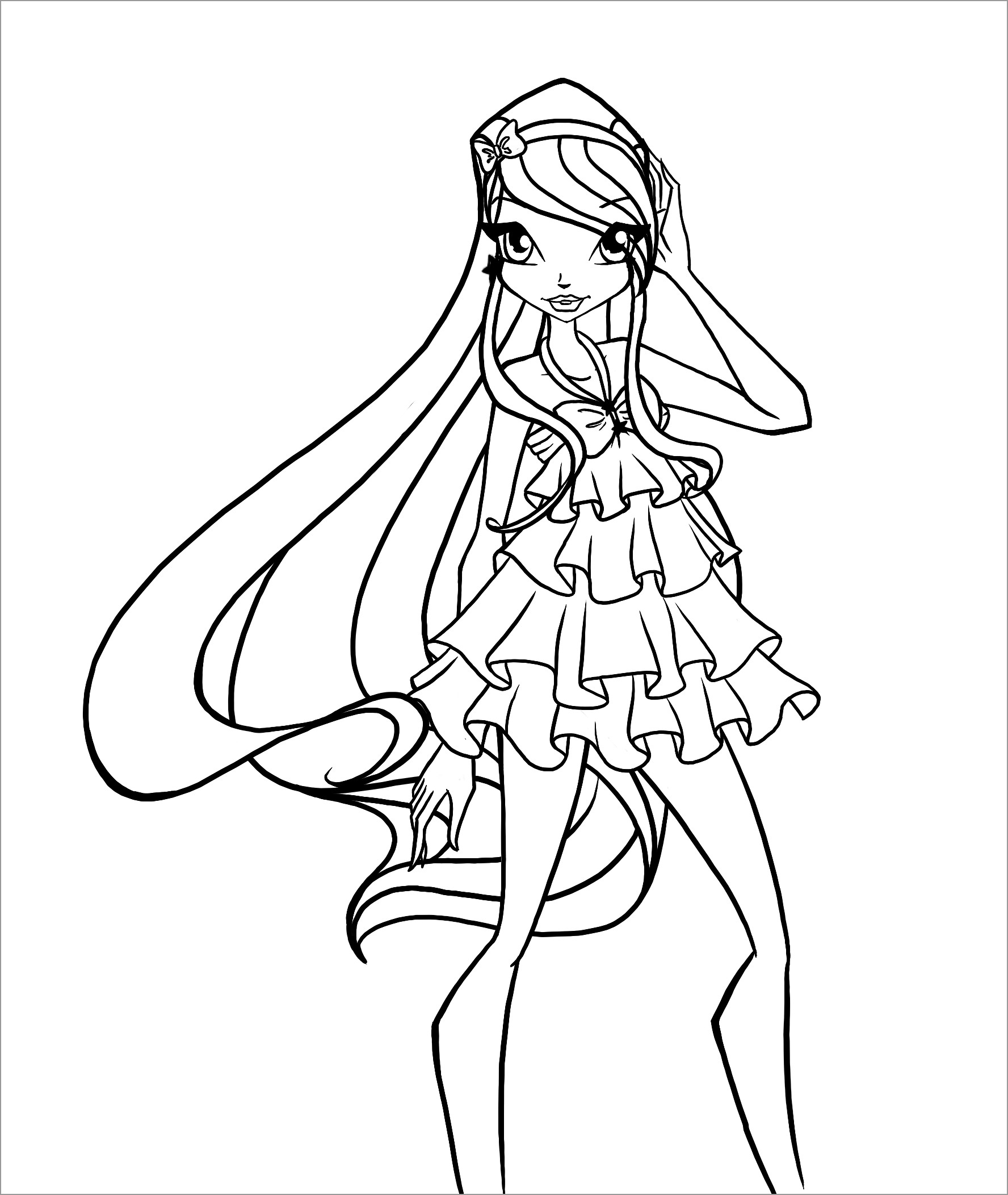 Winx Coloring Pages to Print